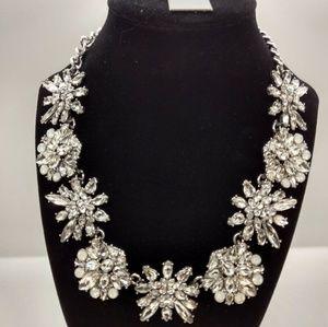Baublebar Rhinestone Crystal Statement Necklace
